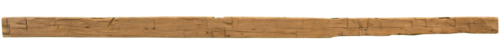 003 - Hand Hewn Mantel - 102.5 in
