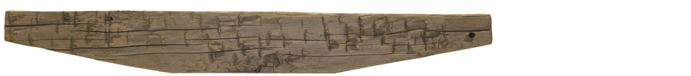 226 - Hand Hewn Mantel - 71 in