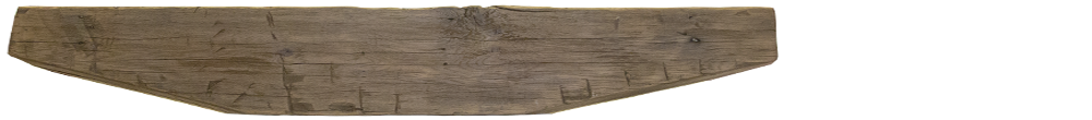 227 - Hand Hewn Mantel - 72 in