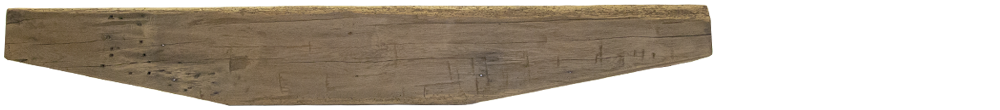 228 - Hand Hewn Mantel - 72 in