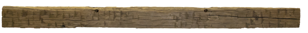 231 - Hand Hewn Mantel - 118 in