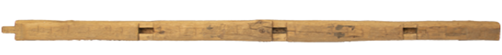 245 - Hand Hewn Mantel - 104 in