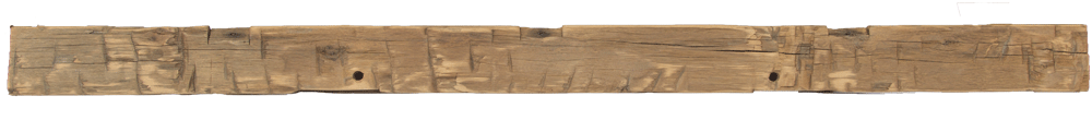 265 - Hand Hewn Mantel - 106 in