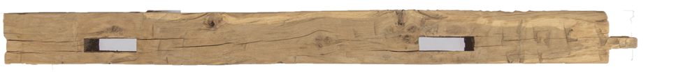269 - Hand Hewn Mantel - 91 in