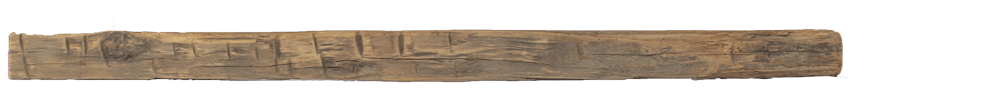 287 - Hand Hewn Mantel - 86 in