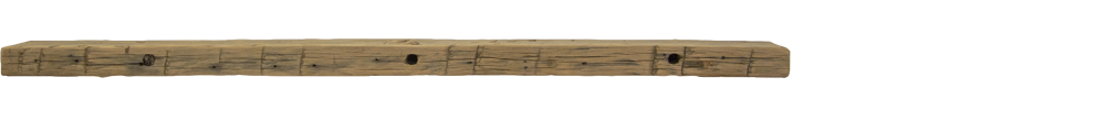 295 - Hand Hewn Mantel - 72 in