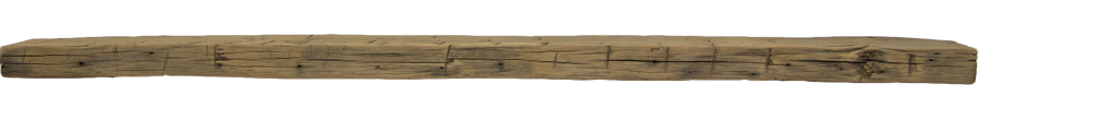 298 - Hand Hewn Mantel - 80 in