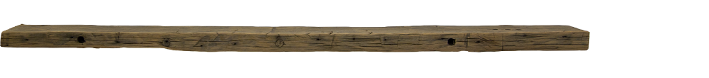 SALE $200 OFF - Hand Hewn Mantel - 83 in