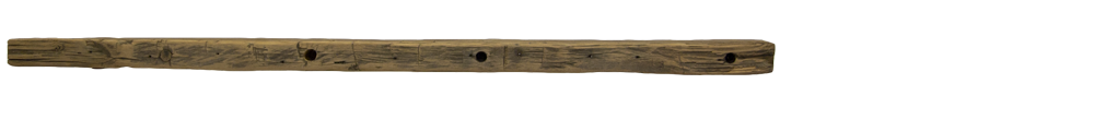 SALE $200 OFF 302 - Hand Hewn Mantel - 71 in