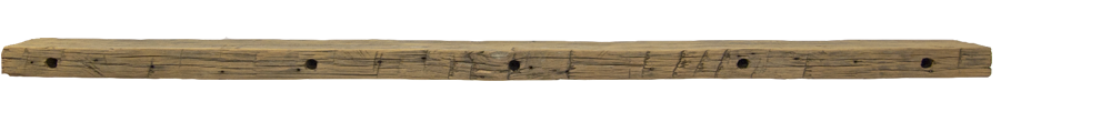 307 - Hand Hewn Mantel - 89 in