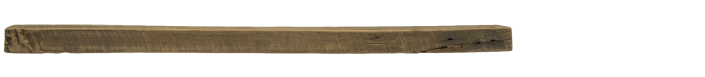 314 - Rough Sawn Mantel - 78 in