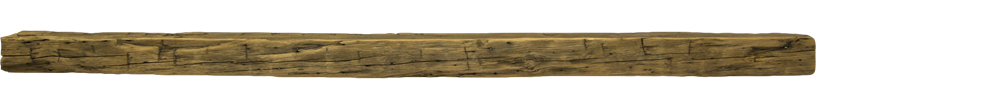 324 - Hand Hewn Mantel - 80 in