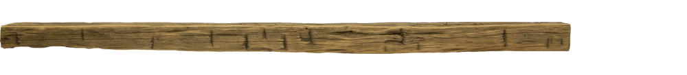 325 - Hand Hewn Mantel - 84in