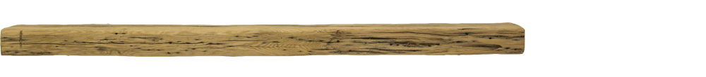 326 - Hand Hewn Mantel - 76 in