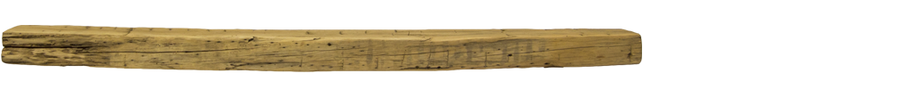 327 - Hand Hewn Mantel - 72 in