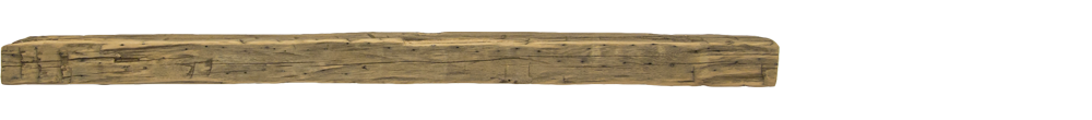 330 - Hand Hewn Mantel - 72 in