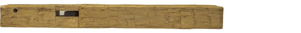 333 - Hand Hewn Mantel - 75 in