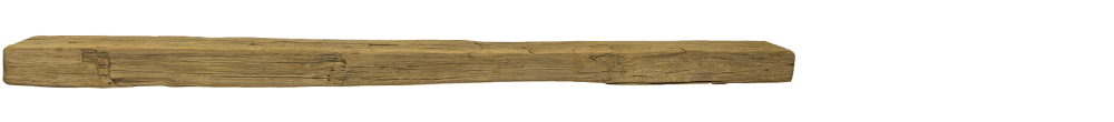 344 - Hand Hewn Mantel - 72 in