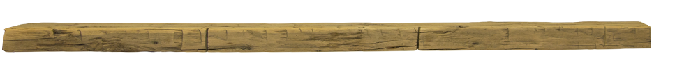 346 - Hand Hewn Mantel - 94 in