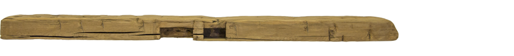 350 - Hand Hewn Mantel - 74 in