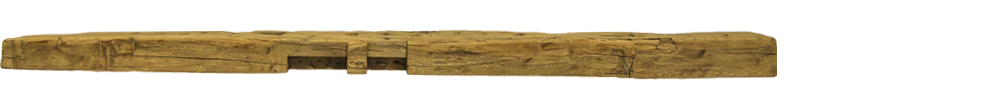 351 - Hand Hewn Mantel - 79 in