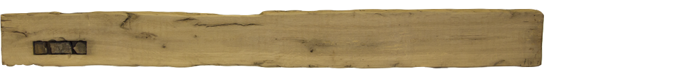 352 - Hand Hewn Mantel - 79 in
