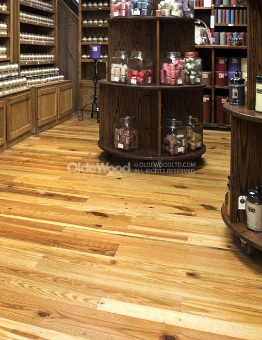 Reclaimed Heart Pine Flooring Wide Plank Heart Pine Flooring