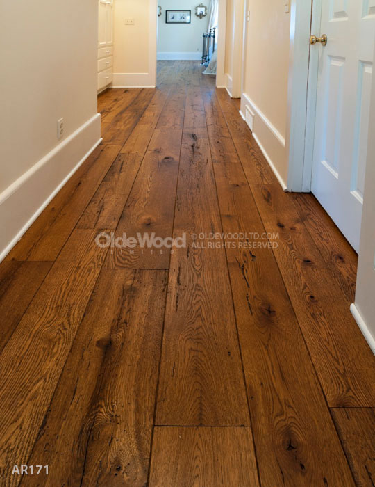 Reclaimed Wide Plank Flooring Antique Resawn Oak