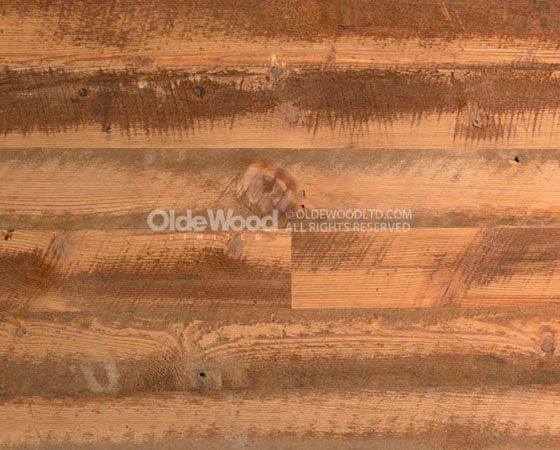 Reclaimed Antique Heart Pine Hit-Skip Wide Plank Flooring