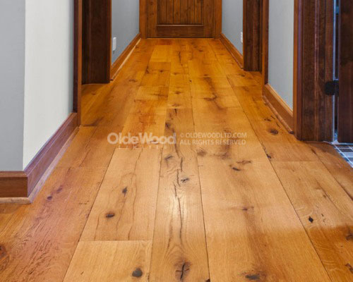 Reclaimed Antique Resawn Oak Flooring