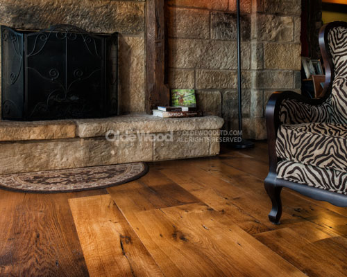 Antique Hardwood Flooring antique maple wood flooring with a fireplace Antique Appearance Grade White Oak