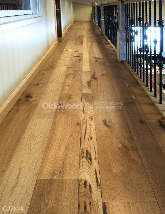 Photos Of Custom Hardwood Plank Floors Olde Wood Ltd