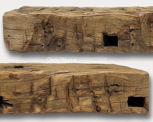 Wood Fireplace Mantels | Reclaimed Barn Wood Mantels