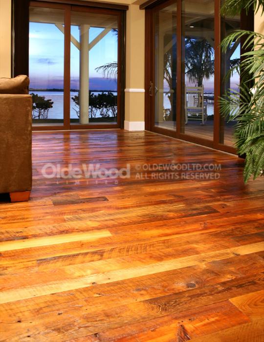 Tobacco Pine Reclaimed Flooring Olde Wood Ltd
