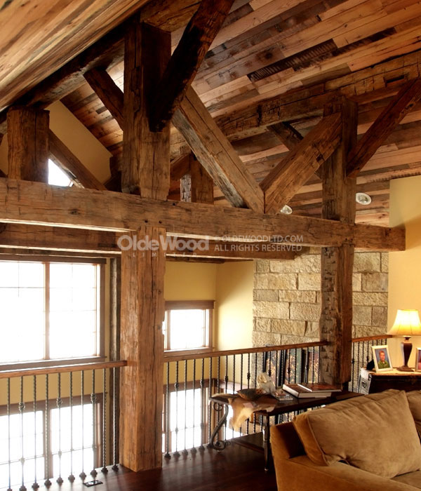 Reclaimed Wood Beams Barn Wood Beams Olde Wood