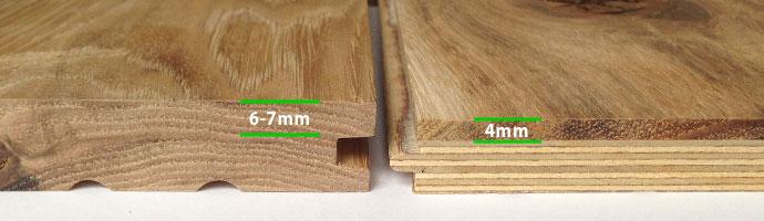 Engineered Flooring Custom Options