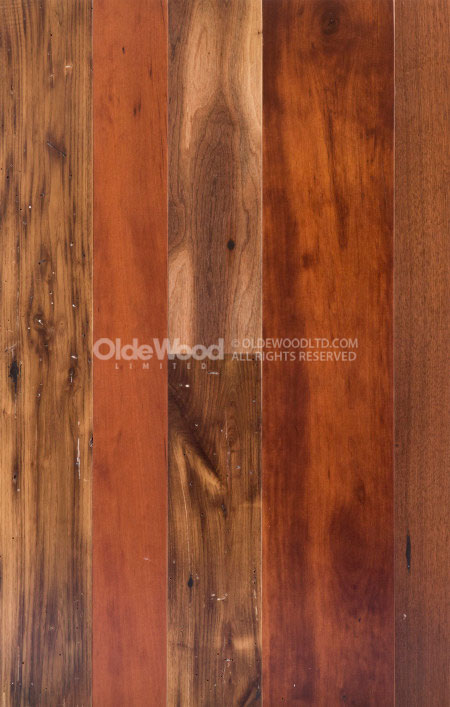 Trophy Room Flooring Exotic Reclaimed Wood Flooring