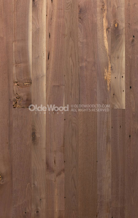 Reclaimed Walnut Flooring Wide Plank Walnut Floor Olde