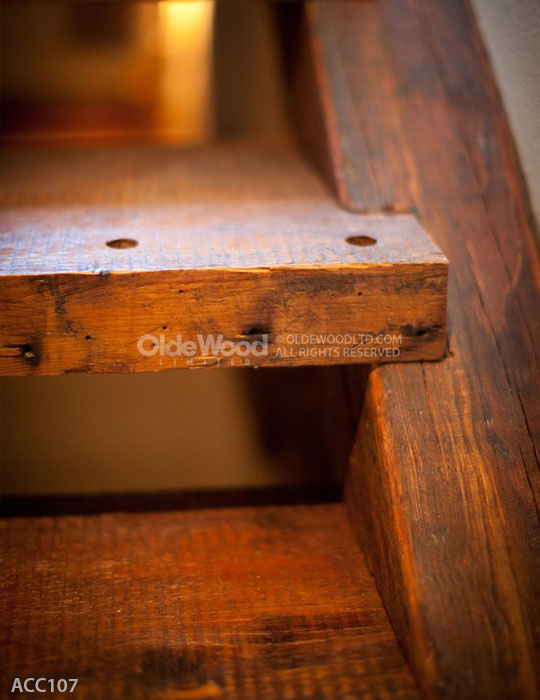 Reclaimed Wood Stair Parts