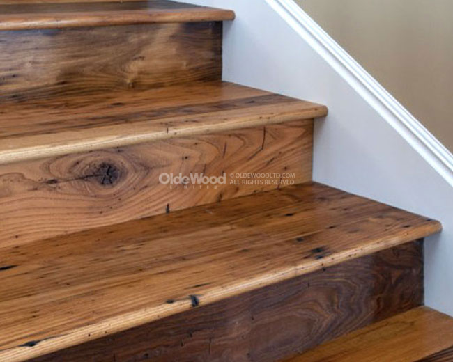 Wooden vents accessories reclaimed wood stair parts for Price of reclaimed barn wood