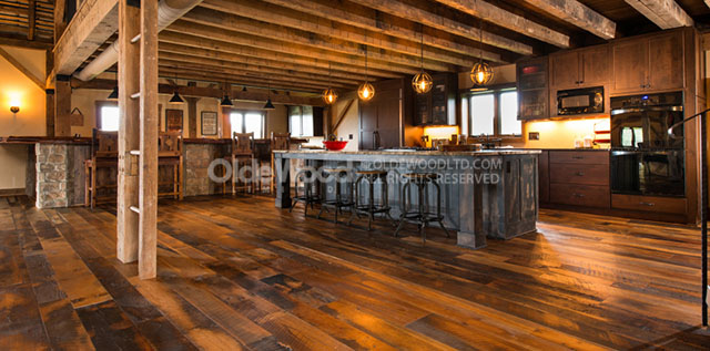 ... outlive their purpose, they are dismantled and we reclaim the  centuries-old wood. We manufacture our Reclaimed Antique Wide Plank Flooring,  Barn Siding, ... - Olde Wood Blog Helpful Articles About Wood Ohio