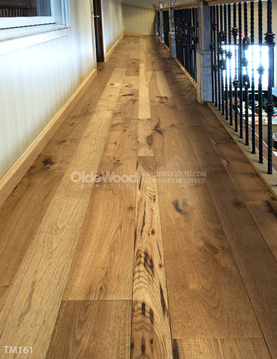 Hickory Wide Plank Flooring