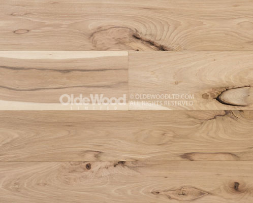Traditional Plank Hickory Flooring