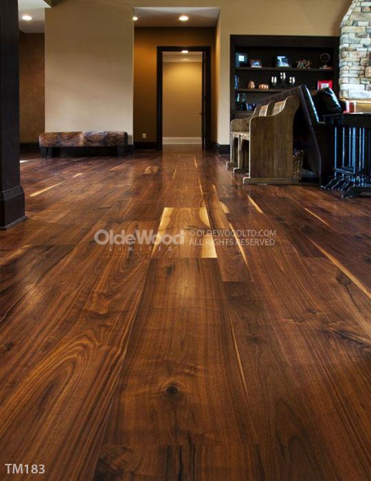 Walnut Flooring Wide Plank Olde