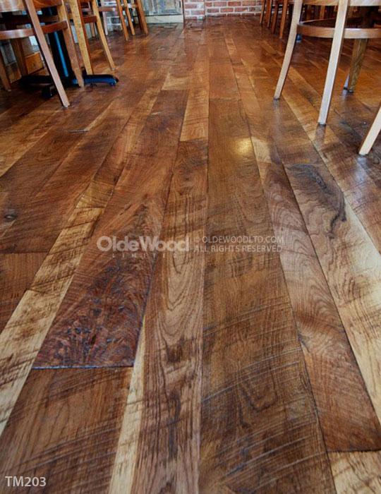 Rustic Walnut Flooring | Walnut Hardwood Floors | Wide Plank Floors